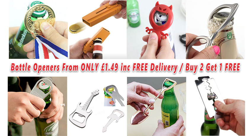 Bottle Openers From ONLY 1.49 Including FREE Delivery