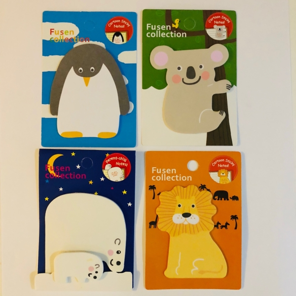 Cute Animals Penguin Lion Polar Bear Koala Sticky Notes Novelty Bookmark Memo Index Tab Page Markers