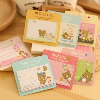 Rilakkuma Bear Sticky Notes