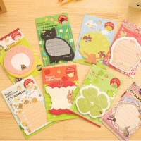 Cute Woodland Animals Sticky Notes
