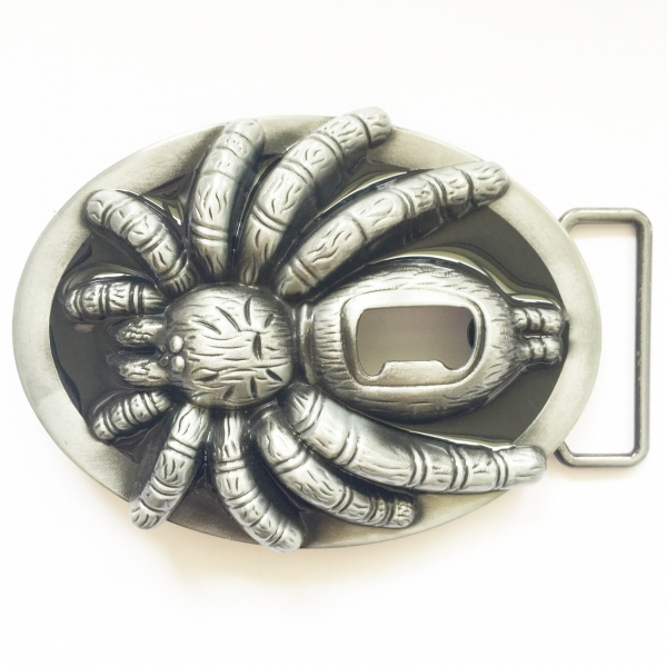 tarantula belt buckle metal beer bottle opener. Black Bedroom Furniture Sets. Home Design Ideas