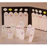 Mini Sticky Notes Cute Sticky Note Pad Bookmark Memo Index Tab Page Markers