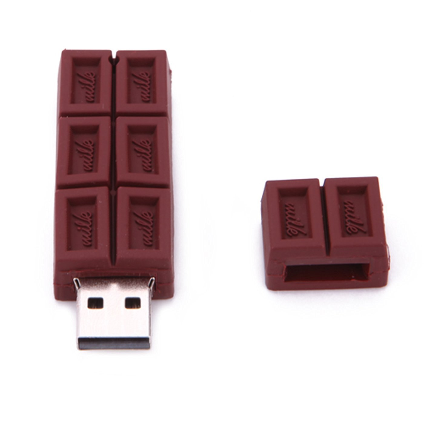 16gb chocolate bar shaped novelty usb flash drives cool memory sticks. Black Bedroom Furniture Sets. Home Design Ideas