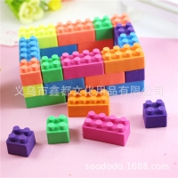 Novelty Puzzle Erasers / Cute Fun Rubbers For Kids