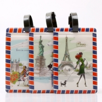 Fashion Luggage Tags And Cute Travel Suitcase Labels For Holiday Makers