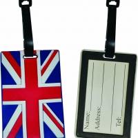 British Union Jack Flag Luggage Tag