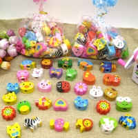 Assorted Animals Shaped Pencil Top Erasers