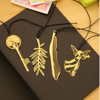 Gold Plated Metal Bookmarks for Books