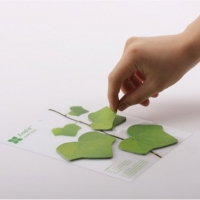 Leaves Shape Sticky Notes
