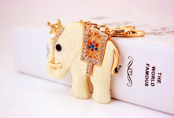 elephant crystal diamante rhinestone bag charms handbag keyrings pendant key cha. Black Bedroom Furniture Sets. Home Design Ideas