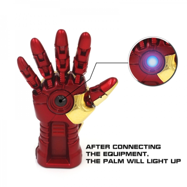 Robot Hand With LED Light Memory Stick Novelty USB Flash Drive For Marvel Avengers Iron Man Fans